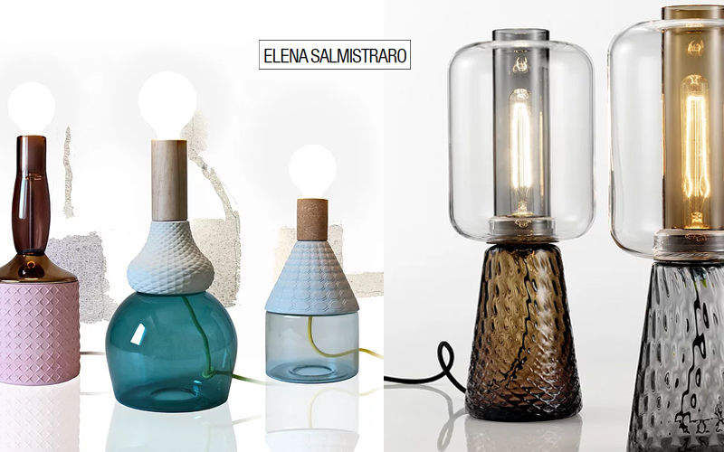 ELENA SALMISTRARO Tischlampen Lampen & Leuchten Innenbeleuchtung  |