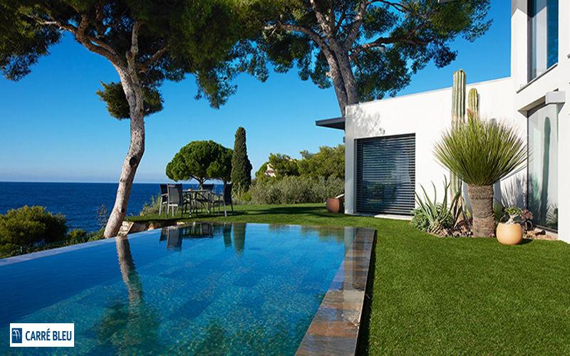 Carre Bleu Traditioneller Swimmingpool Schwimmbecken Schwimmbad & Spa  |