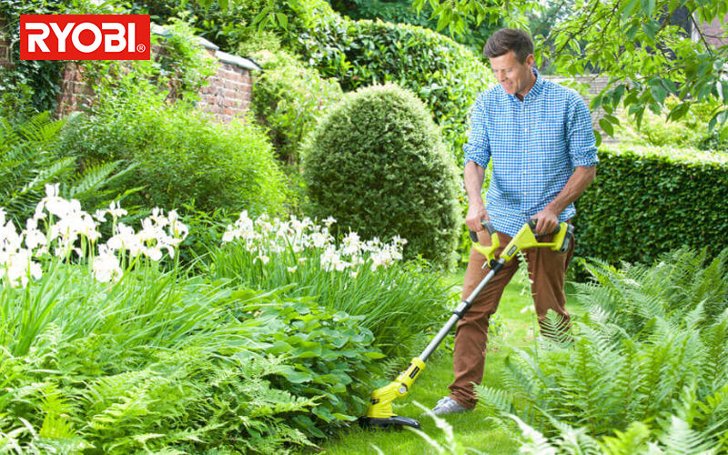 RYOBI Gras-Trimmer Gartenarbeit Außen Diverses   