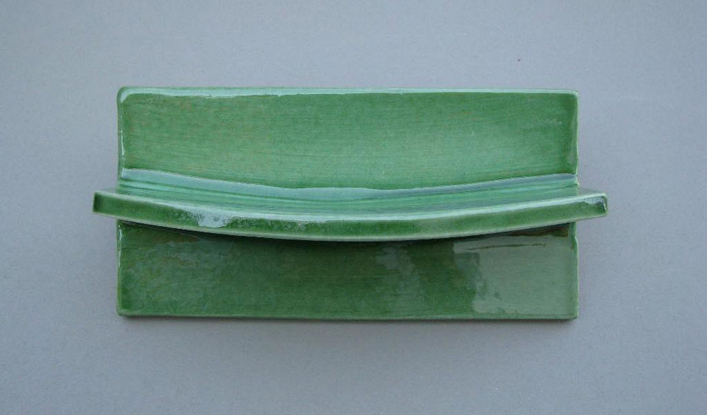 Ceramiques du Beaujolais Wandseifenhalter Seife Bad Sanitär  |
