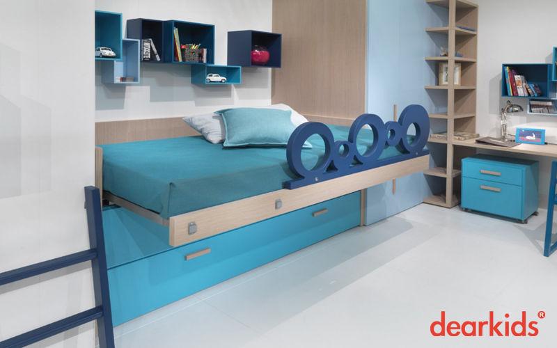kinder schubladen bett kinderzimmer decofinder. Black Bedroom Furniture Sets. Home Design Ideas