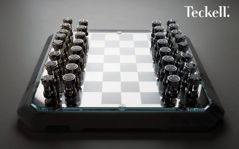 Teckell Schach Gesellschaftsspiele Spiele & Spielzeuge  |