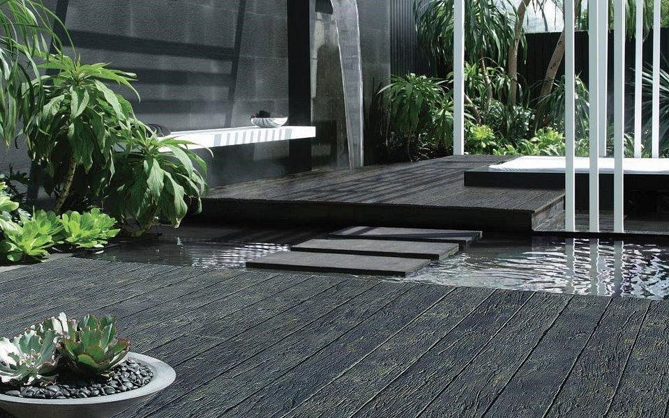ANSYEARS Terrassen-Bodenbelag Außenböden Böden  |