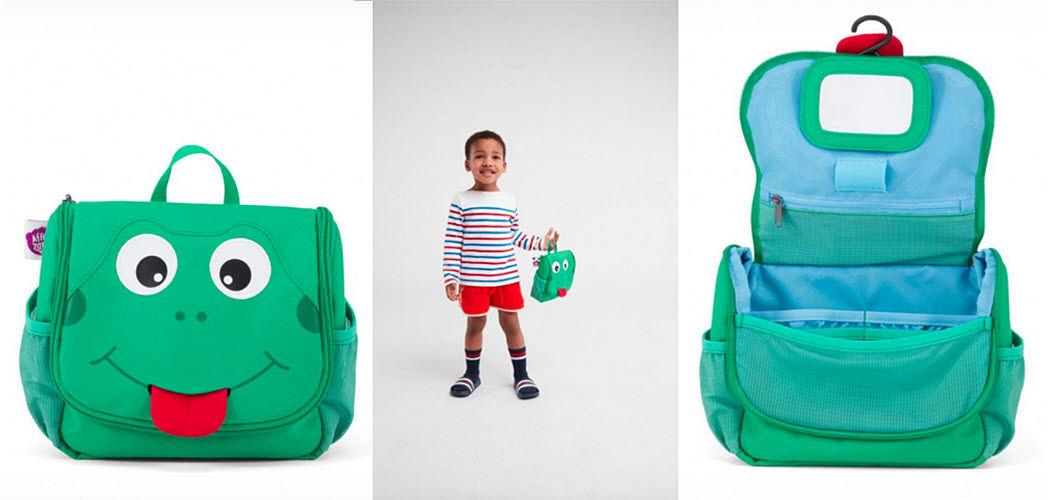 AFFENZAHN Kinderkulturbeutel Bad- und Toilettenartikel für Kinder Kinderecke  |