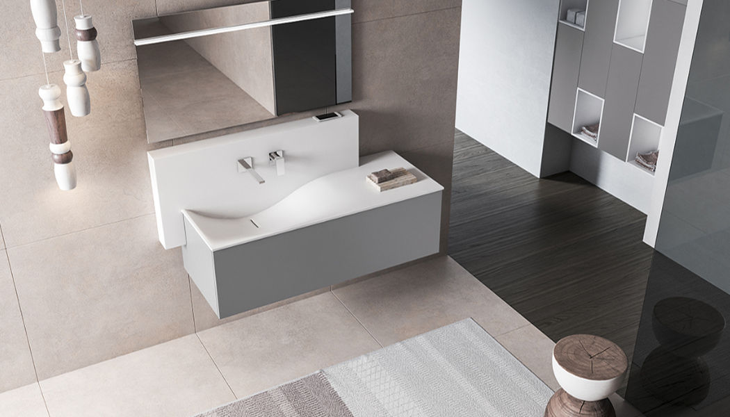 BMT Waschtisch Möbel Badezimmermöbel Bad Sanitär Badezimmer | Design Modern