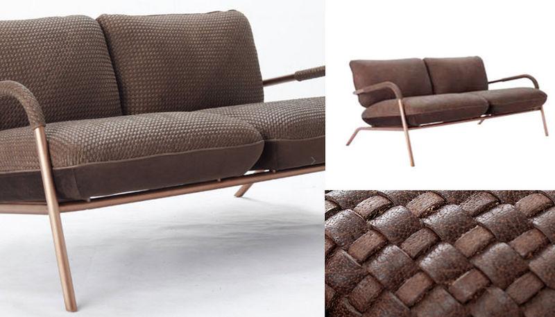 Bleu Nature Sofa 2-Sitzer Sofas Sitze & Sofas  |