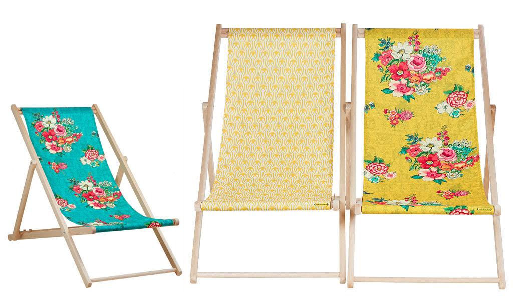 VENT DE BOHEME Doppelter Liegestuhl Gartenliegen Gartenmöbel  |