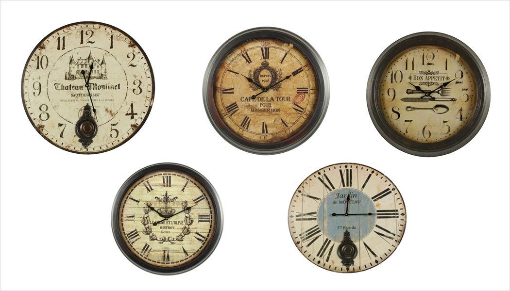 DECORATION D'AUTREFOIS Wanduhr Uhren Pendeluhren Wecker Dekorative Gegenstände  |