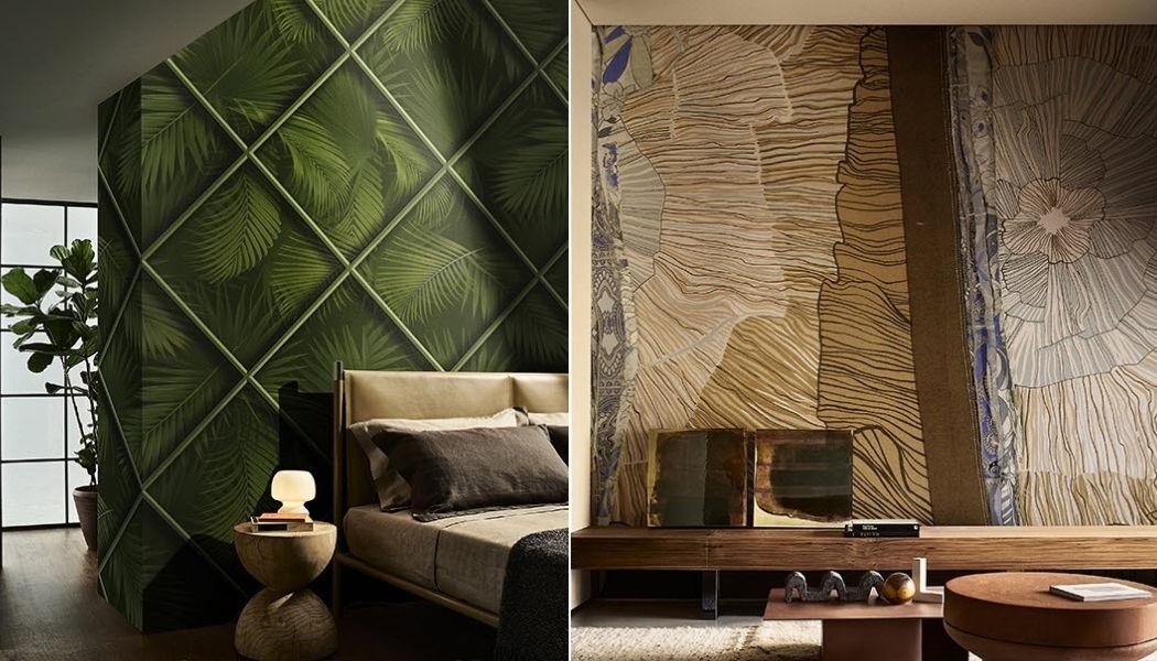 WALL & DECO Tapete Tapeten Wände & Decken Schlafzimmer | Exotisch