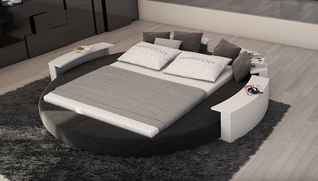 TENDANZA.com Rundes Doppelbett Doppelbett Betten  |