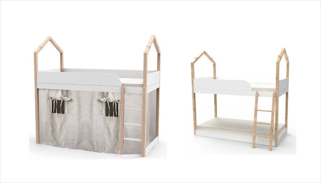LIL' GAEA Hütte Bett für Kinder Kinderzimmer Kinderecke  |