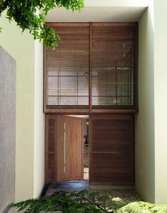Janneau Menuiseries - hylliade - Eingangstür