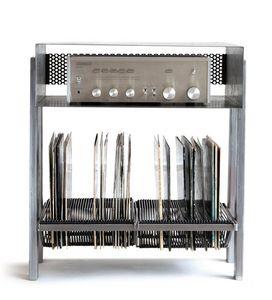 15 Dixieme Schallplatte-Möbel