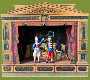 Sartoni Danilo Ravenna Italy Marionettentheater