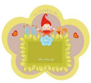 Katherine Roumanoff - plaque de porte petit lutin - Kindertürschild