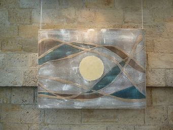 DEZIN-IN - blu cobalto - Zeitgenössische Gemälde