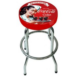 Avenue Of The Stars - tabouret de bar coca cola vintage - Barhocker