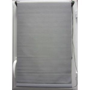 Luance - store enrouleur occultant gris 90x180 cm - Rollo