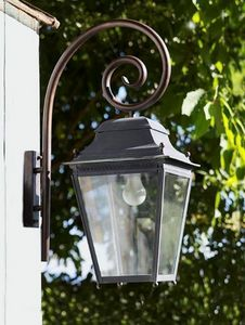 Replicata - außenleuchte chantilly mit wandarm - Garten Wandleuchte