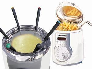 TECHWOOD - fondue mini friteuse tff90 - techwood - Friteuse
