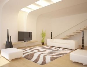 NAZAR - tapis chillout 120x170 beige - Moderner Teppich