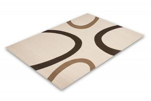 NAZAR - tapis contempo 80x150 ivory - Moderner Teppich