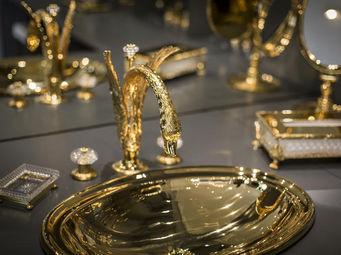Cristal Et Bronze -  - 3 Loch Waschtisch