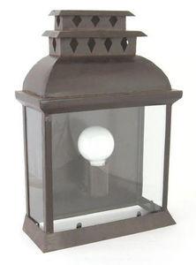Lanternes d'autrefois  Vintage lanterns - applique luminaire murale brissac en fer forgé 33x - Garten Wandleuchte