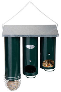 BEST FOR BIRDS - distributeur de nourriture orgue en métal 25x11x28 - Vogelfutterkrippe