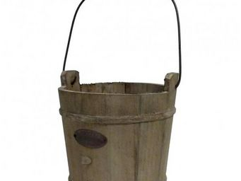 L'HERITIER DU TEMPS - seau de puits en bois - 19,5 cm - Eimer