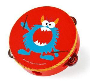 Scratch - rock & roll monster - Tamburin