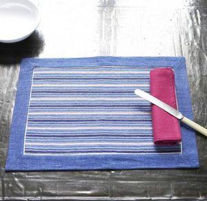 A CASA BIANCA - arezzo blue placemat - Tischset