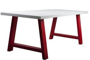 Verpan - table design - Rechteckiger Esstisch