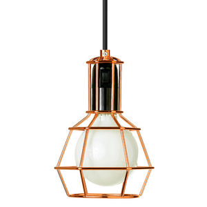 Design House Stockholm - work lamp - suspension/lampe baladeuse cuivre | la - Tischlampen