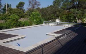 Silver Pool - pourrièrres - Automatische Swimmingpoolabdeckung