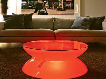 Moree - lounge indoor led - Leuchtender Couchtisch