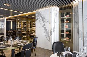 Humbert & Poyet - beefbar hong kong - Ideen: Hotelspeisesäle