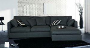 Home Spirit - canapé d'angle droite convertible chicago microfi - Bettsofa