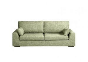 Home Spirit - canapé lit convertible tenerife tissu tweed vert a - Bettsofa