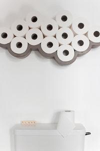 LYON BÉTON - cloud ã©tagã¨re porte papier toilette en bã©ton - Toilettenpapierhalter
