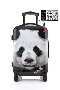 TOKYOTO LUGGAGE - panda - Rollenkoffer