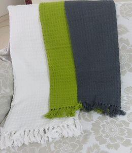 ITI  - Indian Textile Innovation - waffle - Bettüberwurf