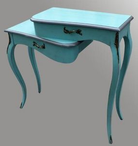 Lawrens - console entree turquoise - Konsolentisch