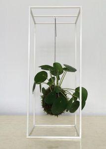 Muno - cage white - Pflanzenständer