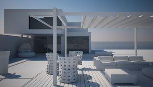 FRAMA - sintesi shade- - Terrassenüberdachung