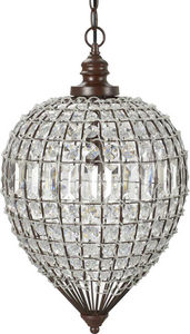 Amadeus - suspension en fer et acrylique julia - Deckenlampe Hängelampe
