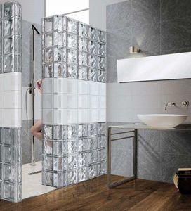 Rouviere Collection - métallisé - Glasbaustein