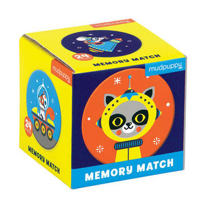 BERTOY - mini memory game outer space - Lernspiel