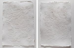 LAUREN COLLIN - '.papier sculpté - Zeitgenössische Gemälde