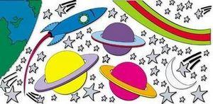 Funtosee - espace - Kinderklebdekor